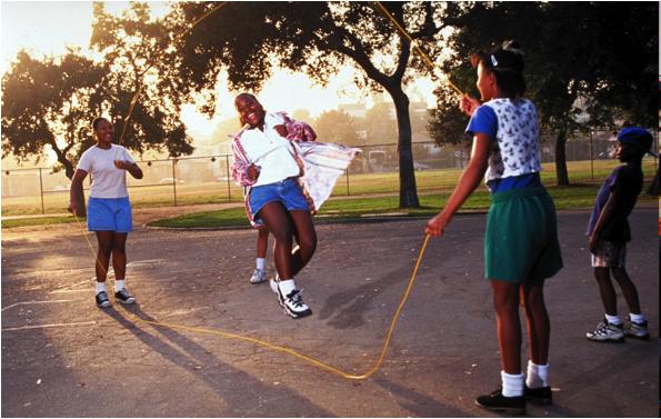 photos of girls jumping double dutch № 12732