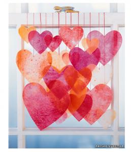 Martha Stewart Valentine's Day craft