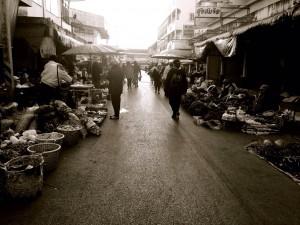 street market in Thailand