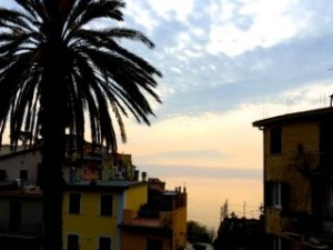Sunset in Corniglia