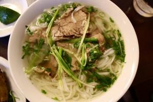 noodle soup in Thailand