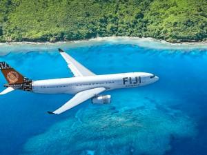 plane to Fiji
