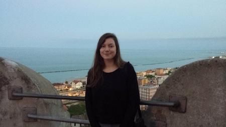 Dagmar in Italy