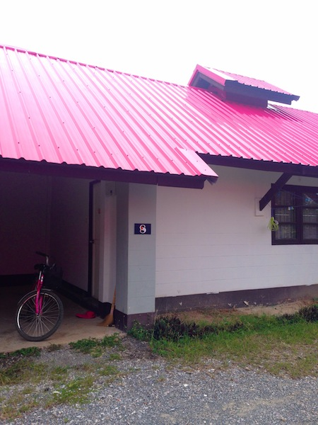 building and bike in Thailand