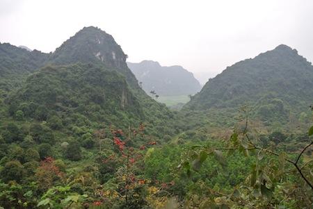 mountain view in Vietnam
