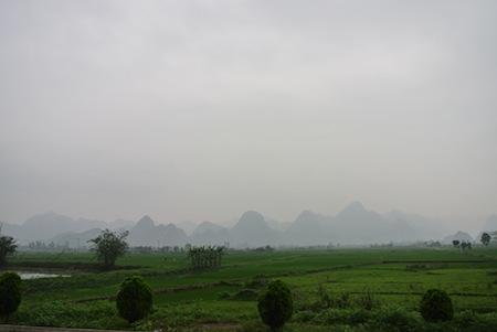 mountains of Vietnam
