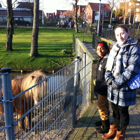 au pair with host kid in the Netherlands